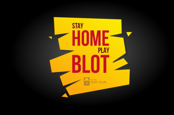 Stay home, play blot!